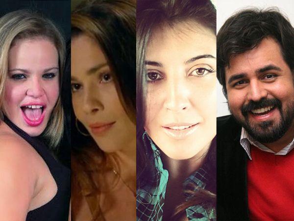 Paulinha, Thalita, Priscila e Marcelo também opinaram sobre o caso / Reprodução/Twitter/Onofre Vreas/Tony Andrade/AgNews