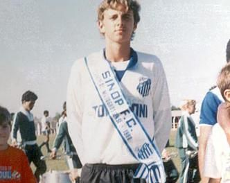 Rogério, ainda pelo Sinop (MT), seu primeiro clube