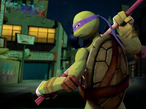 Donatello funciona como o cérebro e o inventor do grupo /