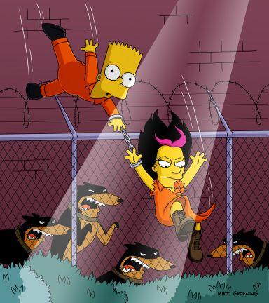 Bart encontra o amor no reformatório /