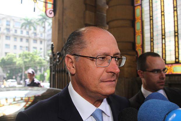 Geraldo Alckmin lamentou a perda de Luciano do Valle / Leo Franco e Thiago Duran/AgNews