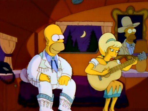 Homer e Lurleen, a cantora country /