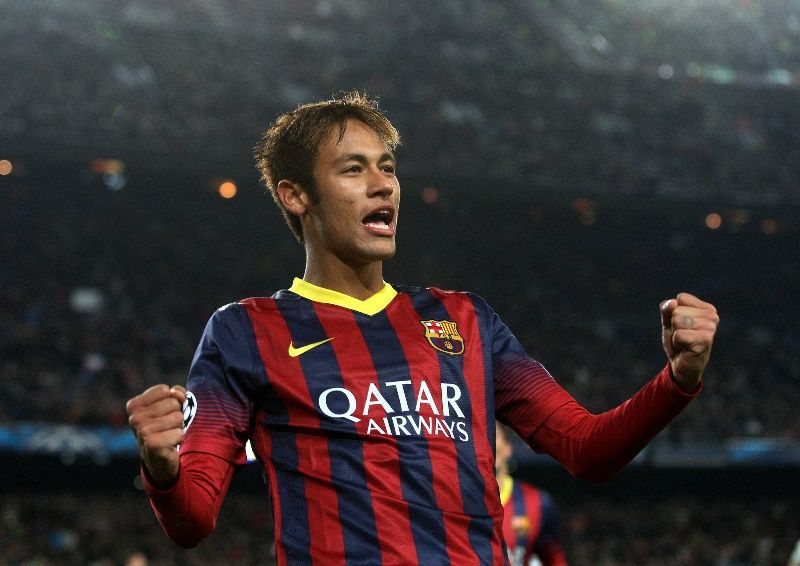 Neymar, um integrante do trio MSN  / Quique Garcia - AFP