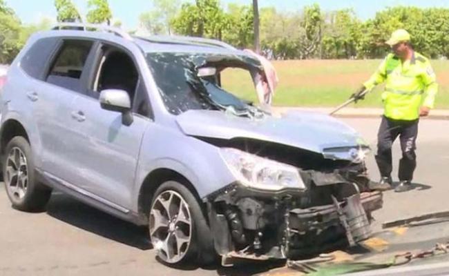 Ator Caio Junqueira Sofre Grave Acidente Com Capotamento