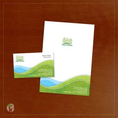 Projeto grafico cartao de visita_Agua Grande