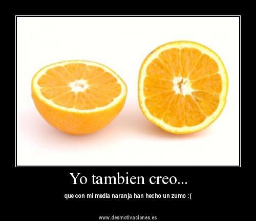 Imgenes de amor Media naranja