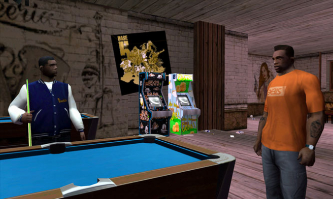 'Grand Theft Auto: San Andreas'.
