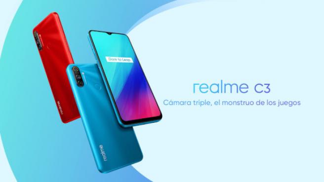 Imagen promocional del Realme C3