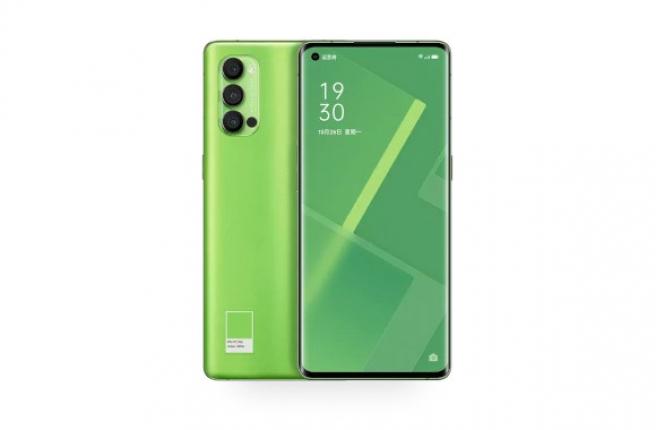 El OPPO Reno4 Pro en color verde