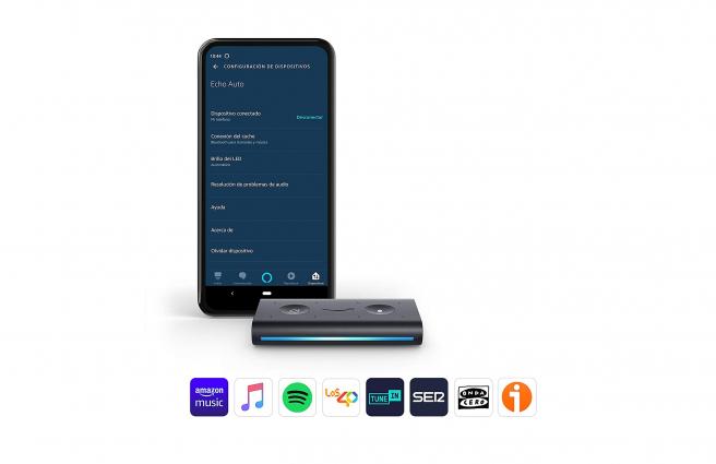Echo AUto, el nuevo dispositivo de Amazon para el coche.