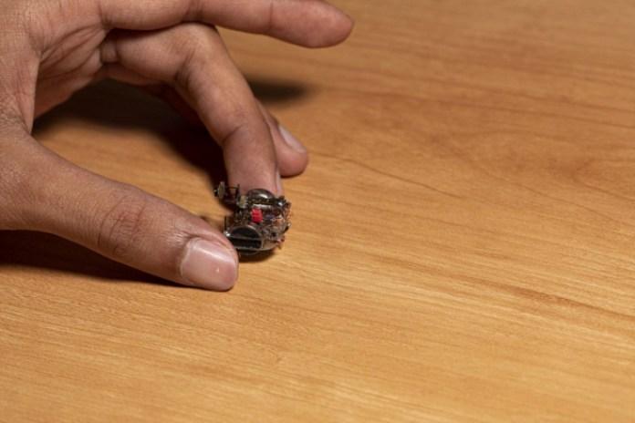 Puede que sea la cámara de streaming más pequeña del mundo.