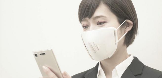 La mascarilla inteligente C-Face se conecta al móvil o la table a través de una app.