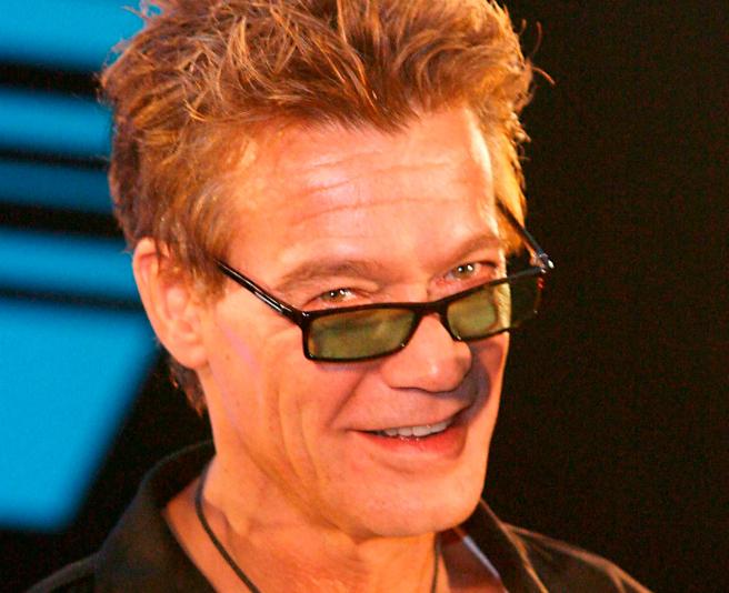 Eddie Van Halen, en Los Ángeles, California (EE UU), en 2007.