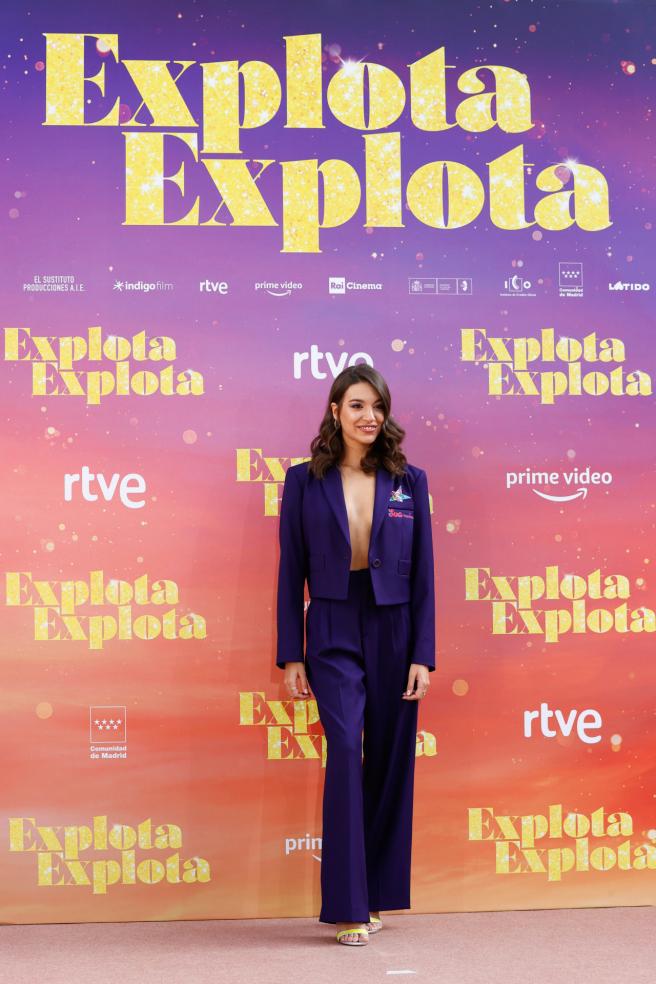 Ana Guerra en la presentación de 'Explota, explota'.