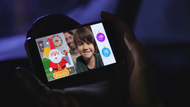 Habla con Papa Noel por videollamada gracias a Xmas Time.