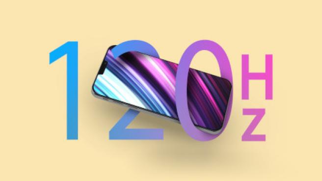 Se esperan que la tasa de refresco de 120 Hz llegue por fin a los iPhone