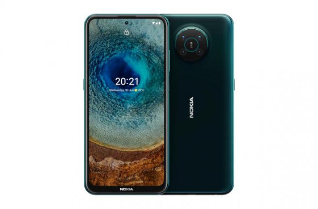 Frontal y trasera del Nokia X10