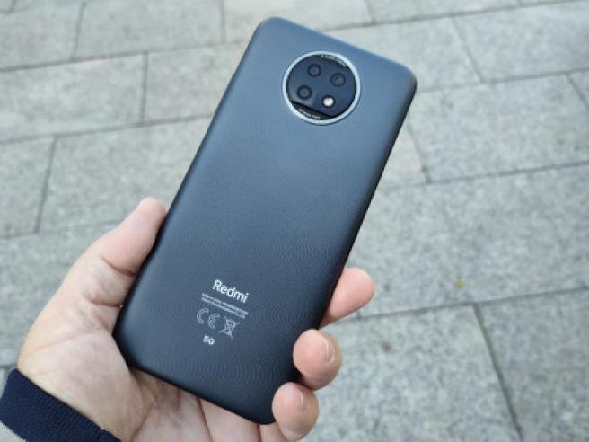 La trasera del Redmi Note 9T