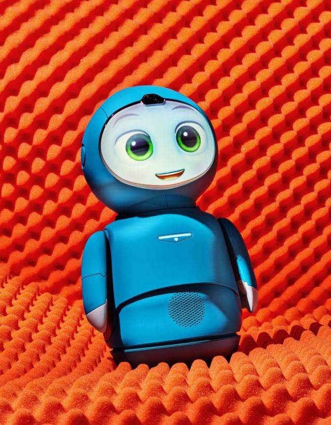 El robot está diseñado para ayudar a impulsar las habilidades sociales y emocionales de niños de 5 a 10 años.
