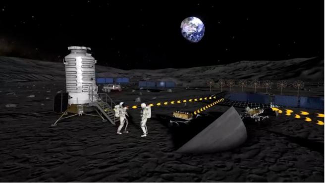 En la tercera fase, en la de utilización, la ILRS podrá recibir misiones tripuladas por astronautas.