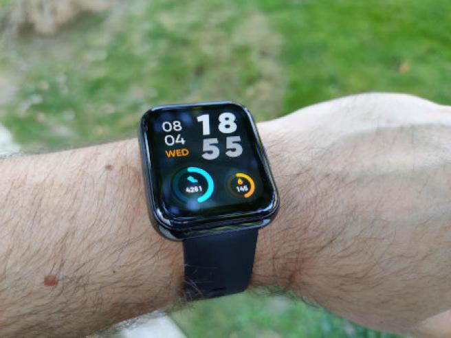Datos recogidos por el Realme Watch 2 Pro tras un pequeño paseo