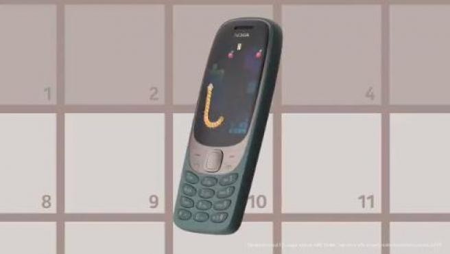 El nuevo Nokia 6310 mantiene el juego 'Snake'