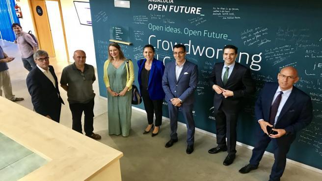 Economía.- 'El Cubo' de Andalucía Open Future cumple cinco años en ...