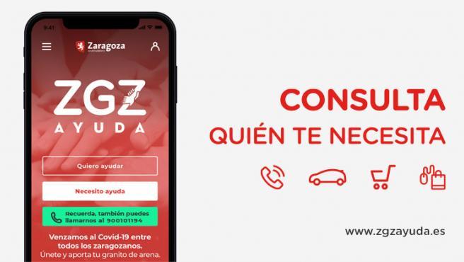 Consulta quién te necesita en https://zaragozaayuda.es