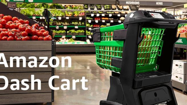 Dash Cart, el carrito inteligente que reconoce tu compra y te la cobra sin pasar por caja.