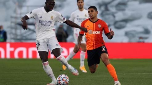 Desastre del Real Madrid que reaccionó tarde al vendaval Shakhtar