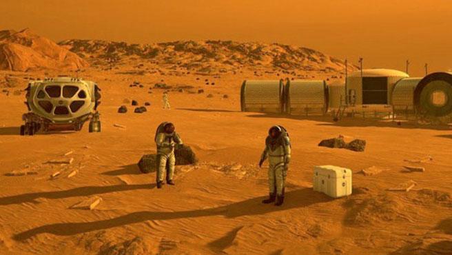 Se presentaron 175 proyectos para crear una ciudad en Marte
