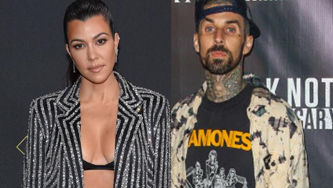 Kourtney Kardashian y Travis Barker, en imágenes de archivo.
