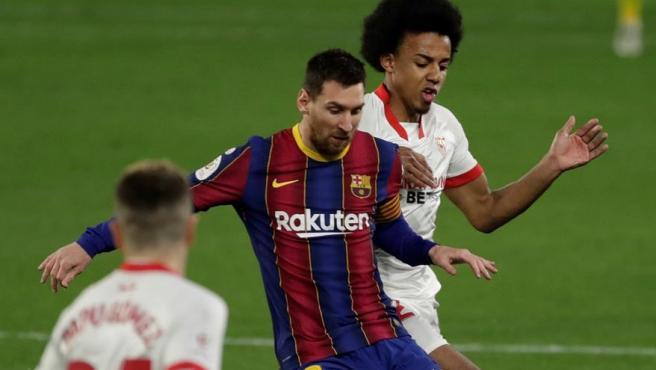 El Sevilla doblega a un Barça de menos a más y toma ventaja en las  semifinales