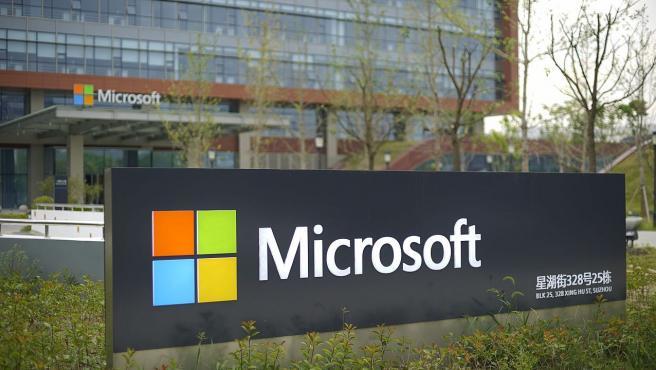 Oficinas de Microsoft en la ciudad china de Suzhou.