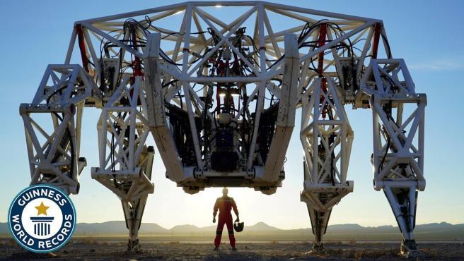 Así luce el exoesqueleto tetrápod más grande del mundo