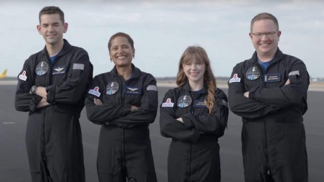 Aún no hay fecha de lanzamiento, pero los tripulantes ya tienen que empezar a entrenar para estar preparados.