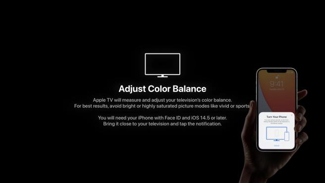 You can adjust the color of your television in a very simple way with your iPhone.