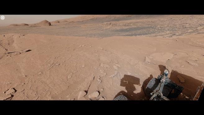 El rover de la NASA ha enviado una increíble imagen panorámica desde Mont Mercou.