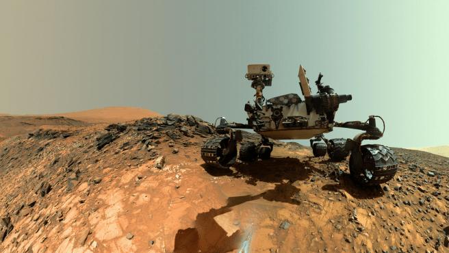 Una 'selfie' del rover Curiosity sobre la superficie marciana de agosto de 2019.