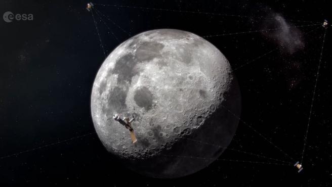 """La iniciativa Moonlight pretende """"llevar la conectividad"""" a la Luna."""