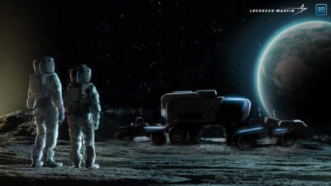 Lockheed Martin y General Motors se han unido para diseñar la próxima generación de rovers lunares.