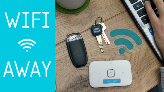 WiFi Away es la solución para una conexión rápida en cualquier momento.