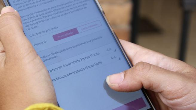 Imagen de la aplicación móvil Energia XXL.