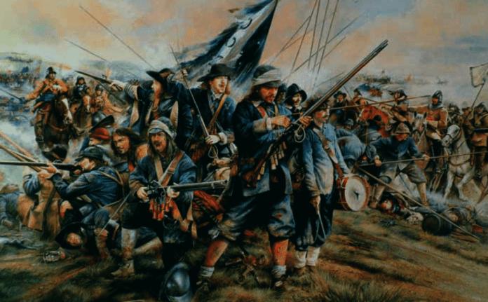 Resultado de imagen para Foto de la Batalla de Naseby