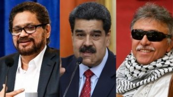 Resultado de imagen para Santrich y Márquez participaron en Cuba