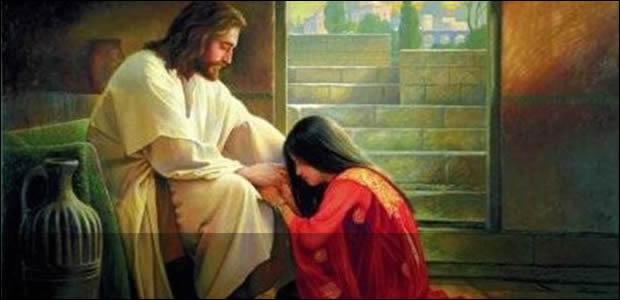 Resultado de imagen para imagenes jesus y maria magdalena