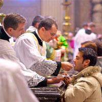 Catholicnet  Quin puede comulgar