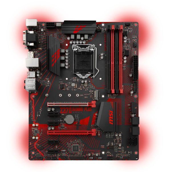 MSI Z370 GAMING PLUS Socket 1151 - Placa Base