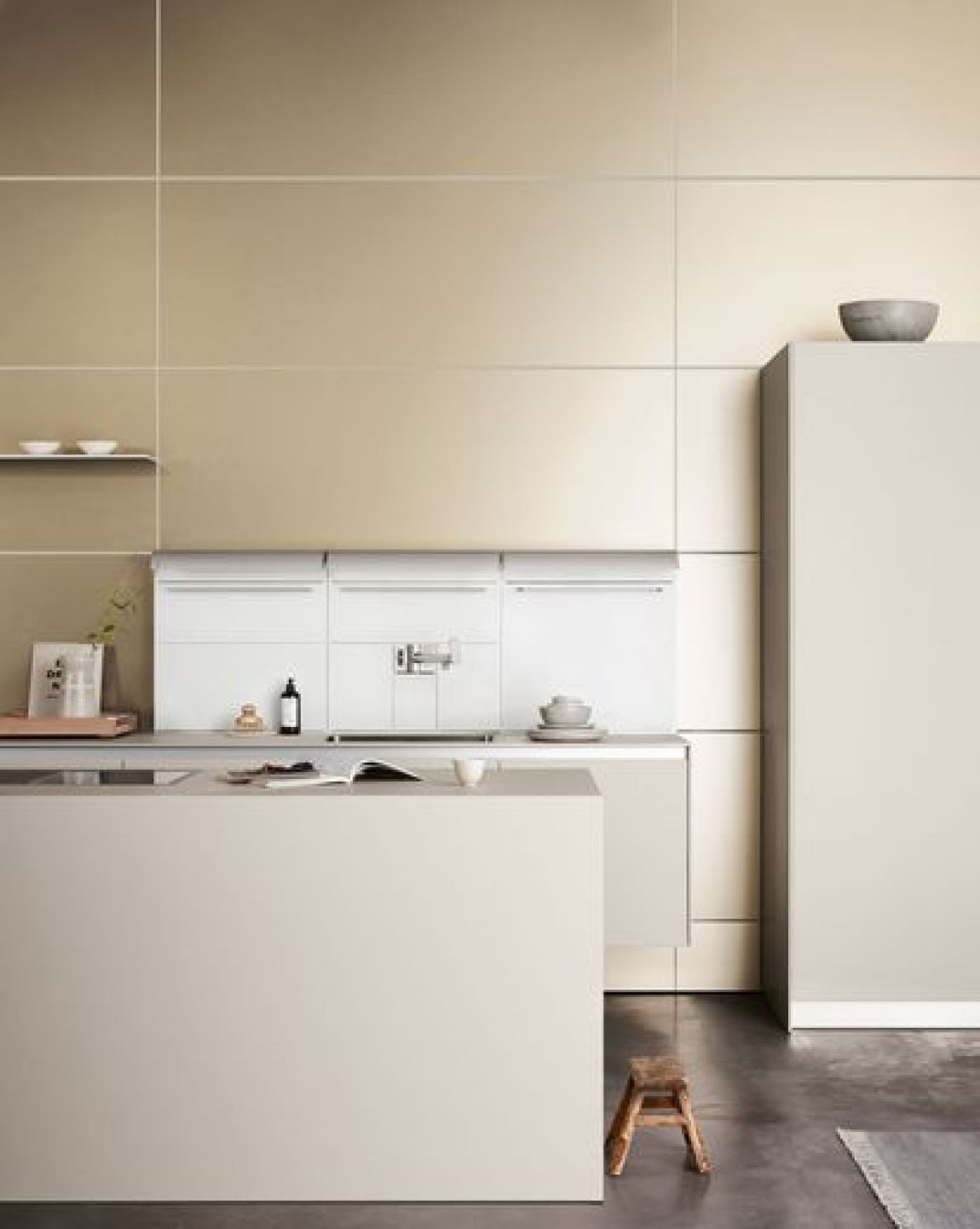 An image of the Bulthaup b3 kitchen system.