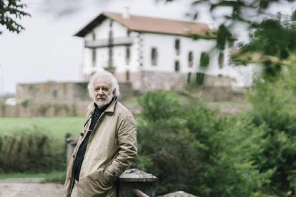 Ramón Andrés, in Elizondo (Navarra), in September 2020.